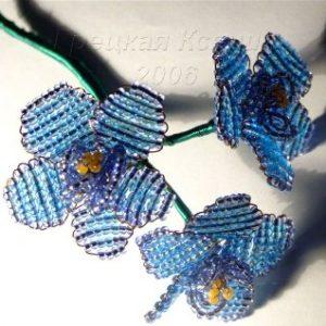 Параллельное плетения бисером