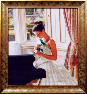 Вышивание бисером - картина