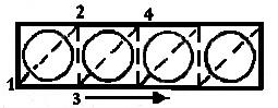 Вышивание бисером - схема стежков