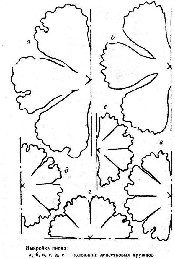 шаблоны цветов на открытку к 9 мая прошлого отечественного