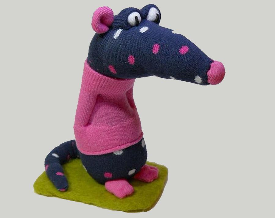 """Шьем мугкую игрушку """"Крыса"""""""