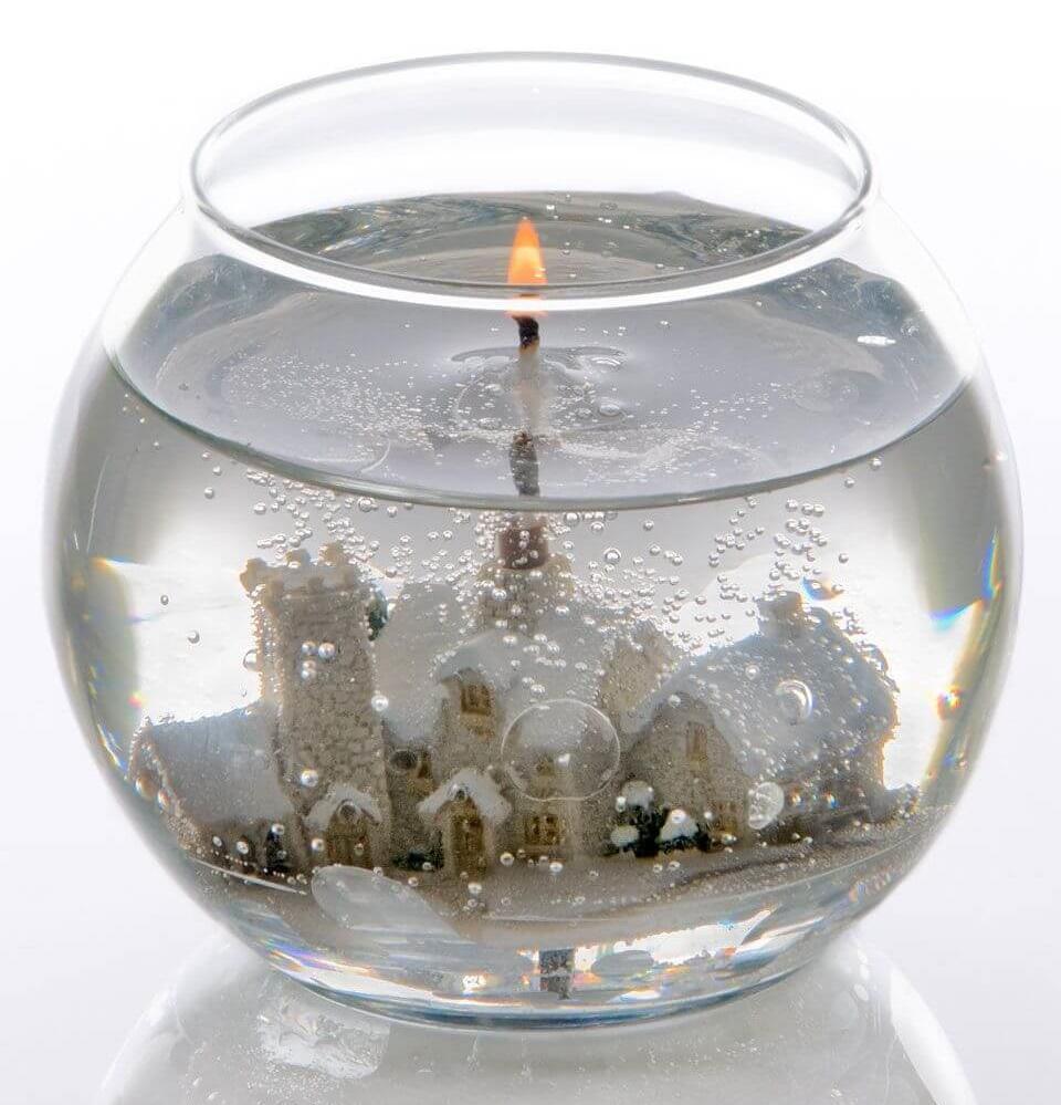 декоративные композиции из свечного геля фото видно