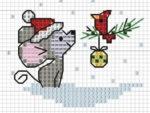Схемы вышивки крестом Мыши или Крысы