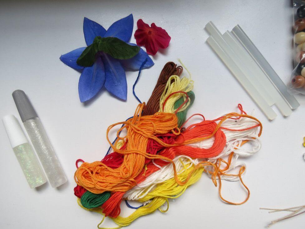 Как сделать цветочную фею