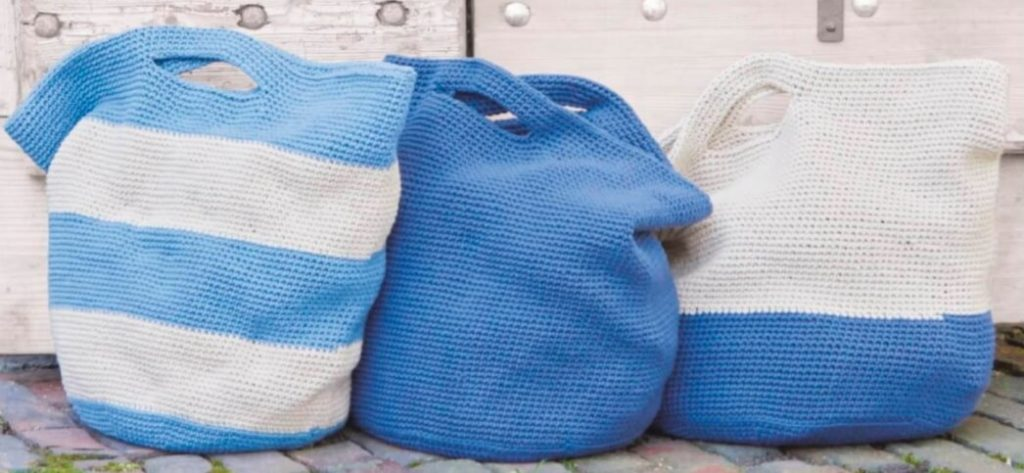 Вяжем сумки крючком