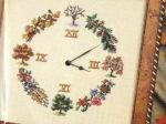 Вышивка крестом Часы. Схемы