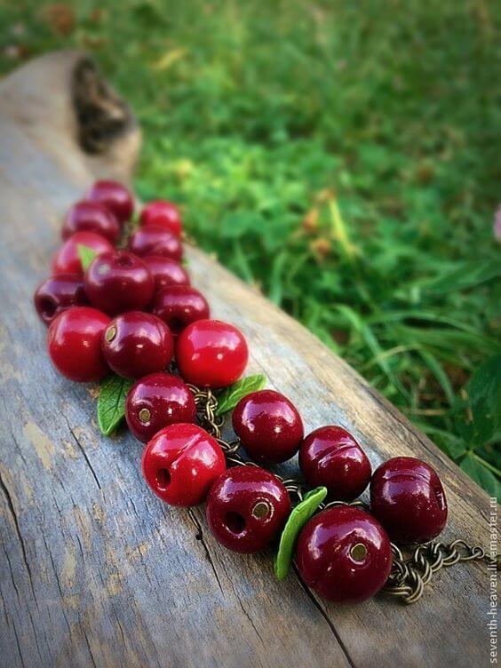 Фрукты и ягоды из полимерной глины