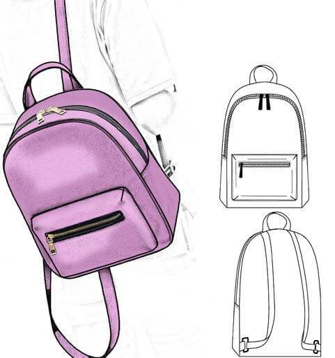 Рюкзак выкройка