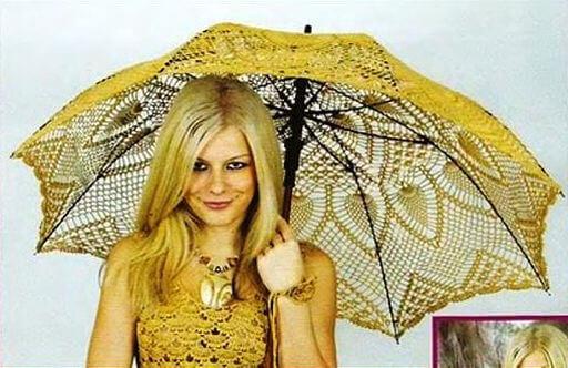 зонтик от солнца вяжем крючком