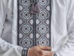 Мужская вышитая сорочка схема крестом