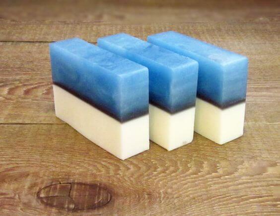 Как сделать мыло слоями