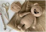 Мишка Тедди амигуруми