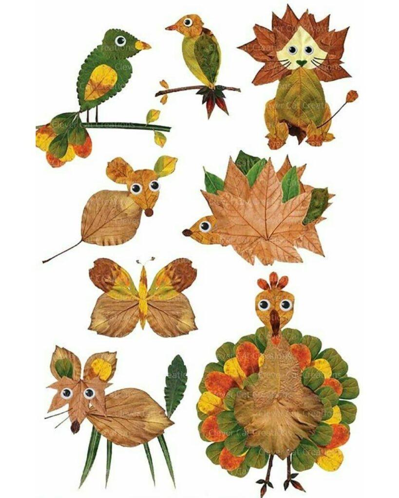 Осенние поделки для детского сада
