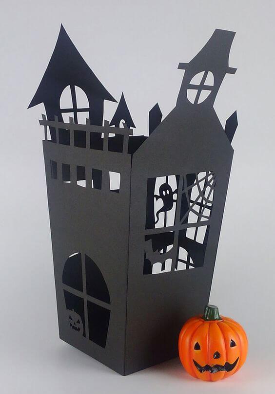 Декор из бумаги на Хеллоуин