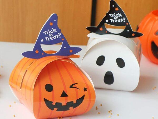 Декор на Хеллоуин из бумаги