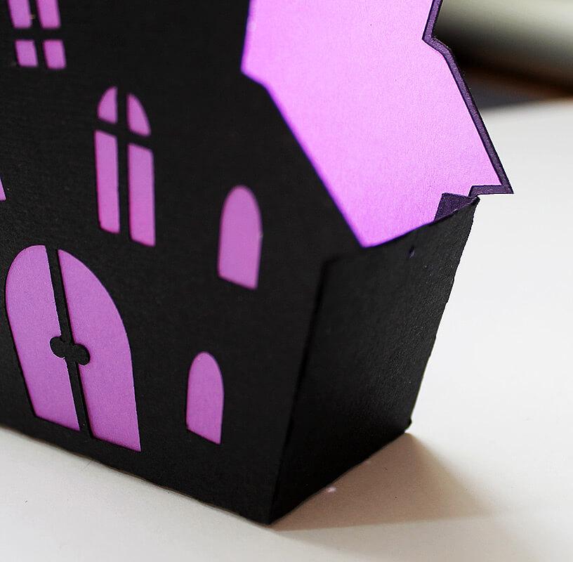 """Корзинка для конфет """"Дом с привидениями"""""""