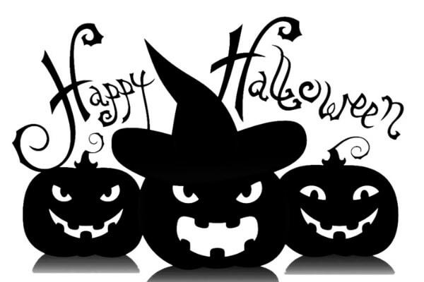 Вытынанки на Хеллоуин