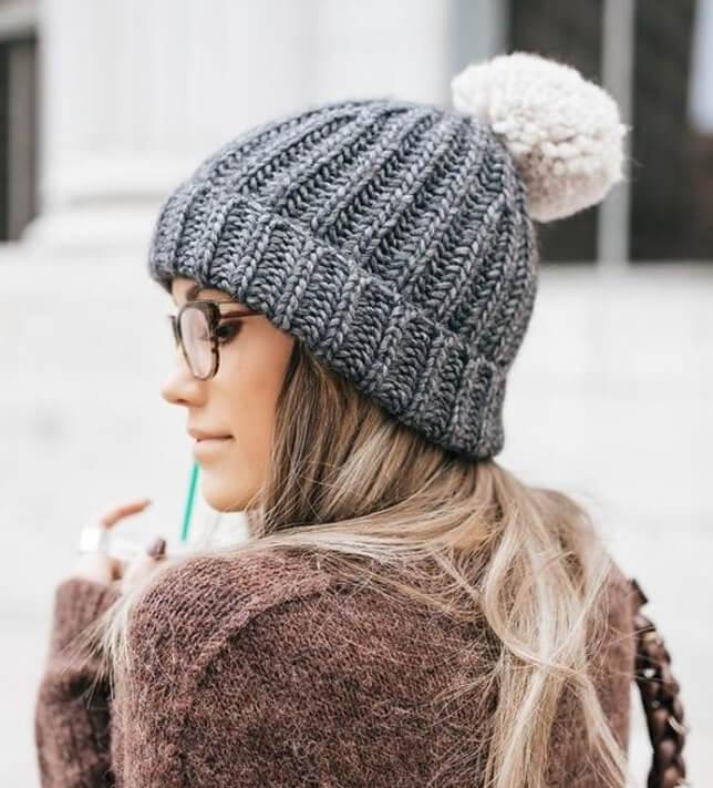 Модные вязаные шапки: сезон зима 2020 - 2021