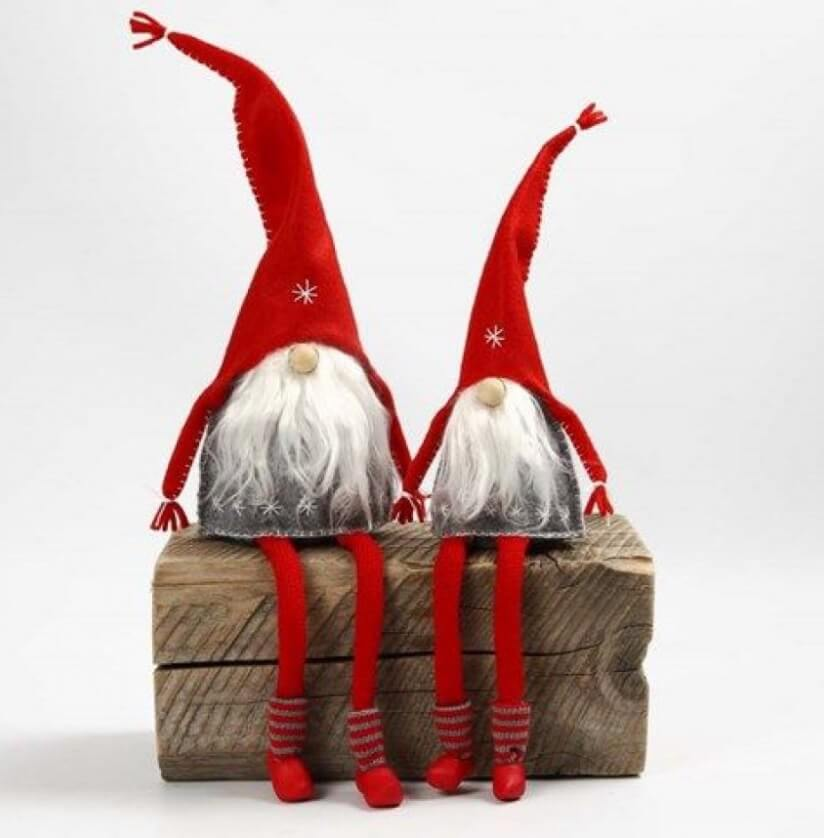 Рождественский гномик своими руками