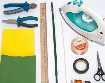 Материалы для одуванчиков из фоамирана
