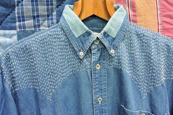 Японская вышивка сашико