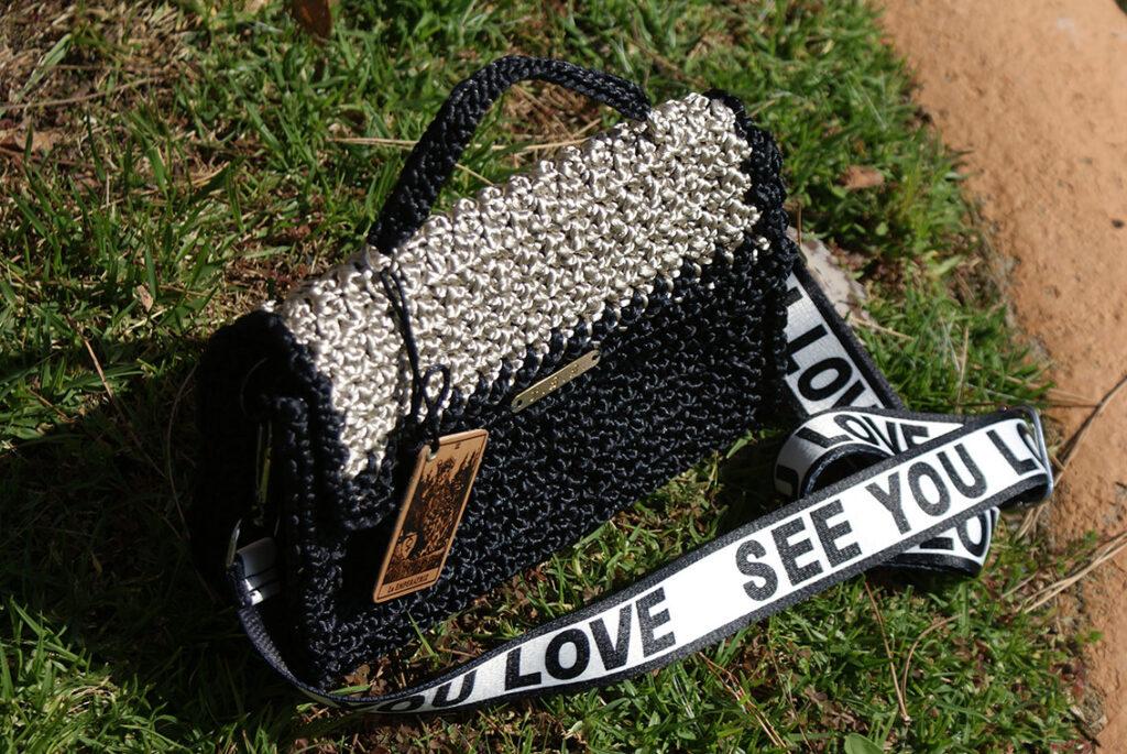 Модные сумки крючком