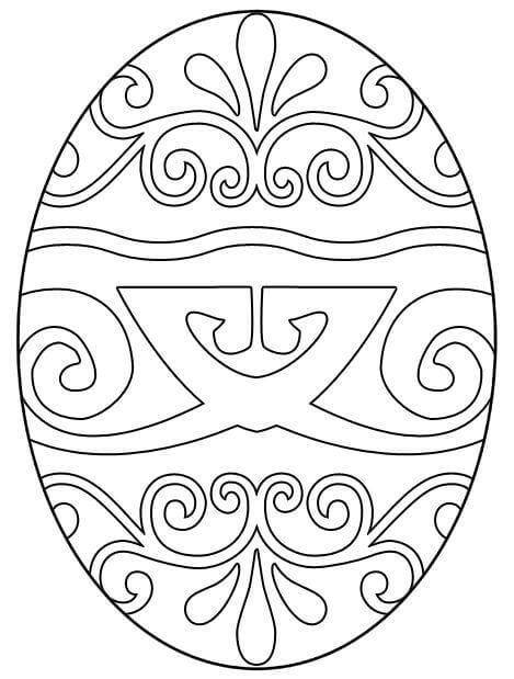 Шаблоны для раскраски пасхальных яиц
