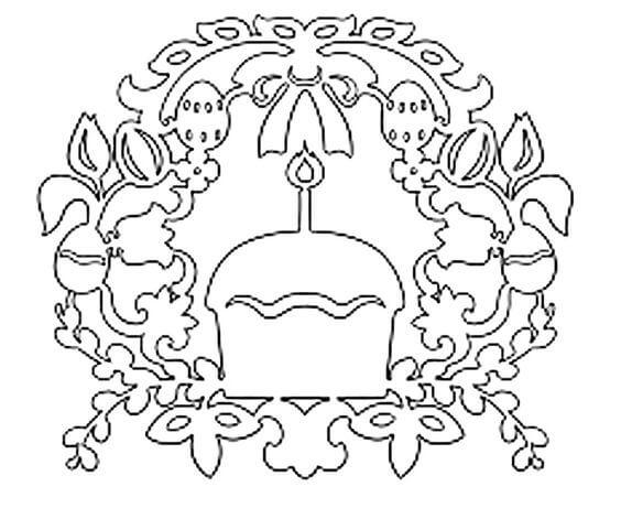 Трафареты на Пасху