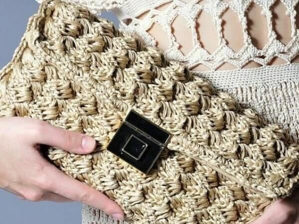 6 моделей маленьких изысканных сумок крючком