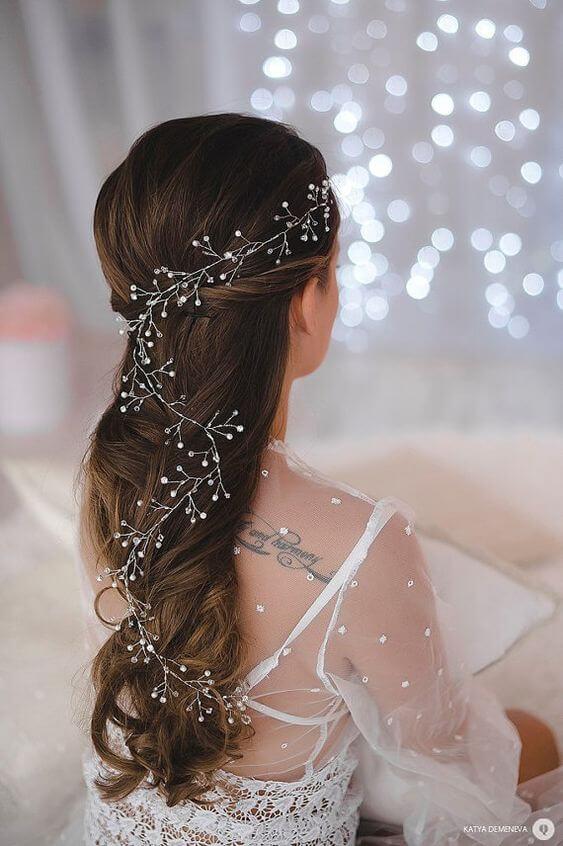 свадебные украшения для волос