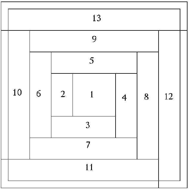 Схемы узоров для пэчворка