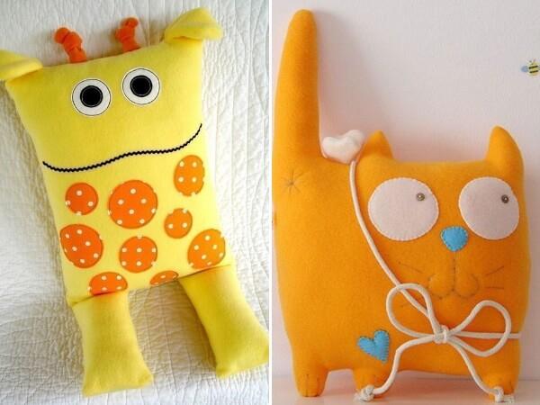 Подушки игрушки своими руками