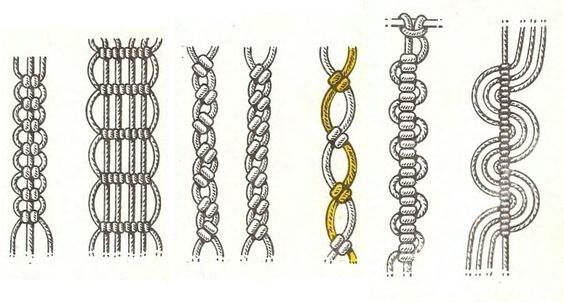 браслеты макраме