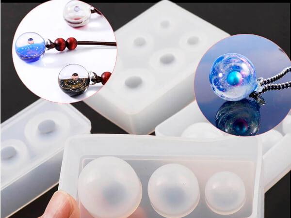 Силиконовая форма для шаров