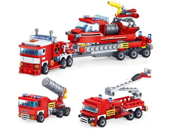 Детский конструктор пожаротушения