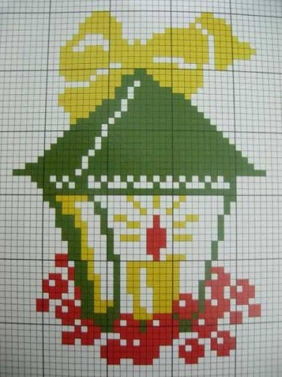 Елочные шарики вышивка крестом схемы