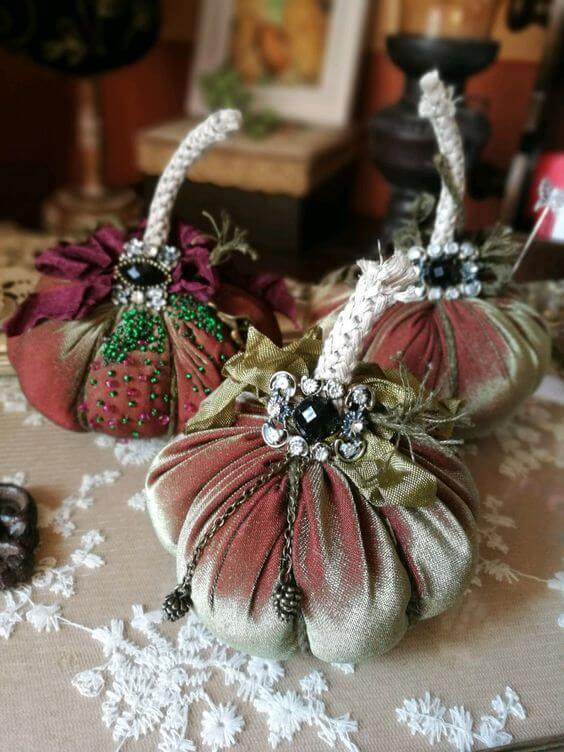 Декоративные тыквы своими руками