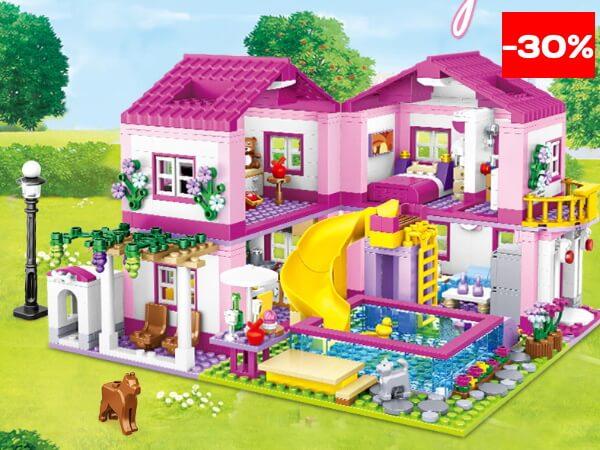 Детский конструктор для девочек дом