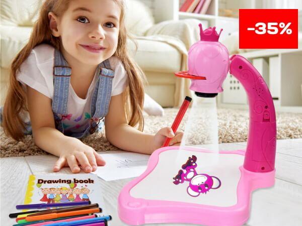 Детский светодиодный проектор