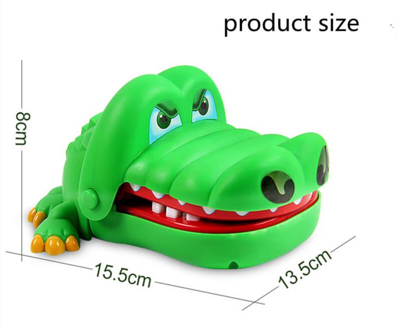Игрушка крокодил кусающий палец