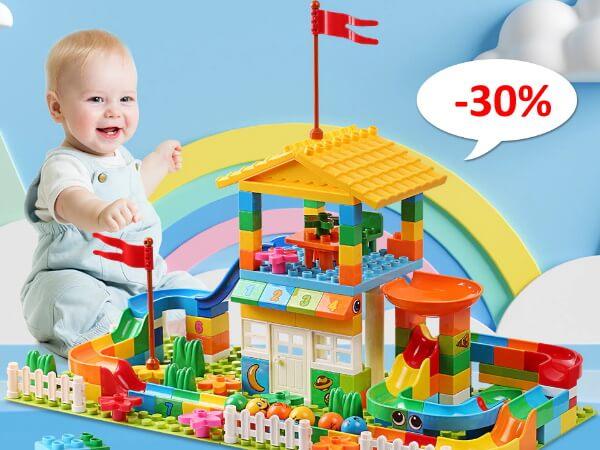 Конструктор для детей с большими частицами