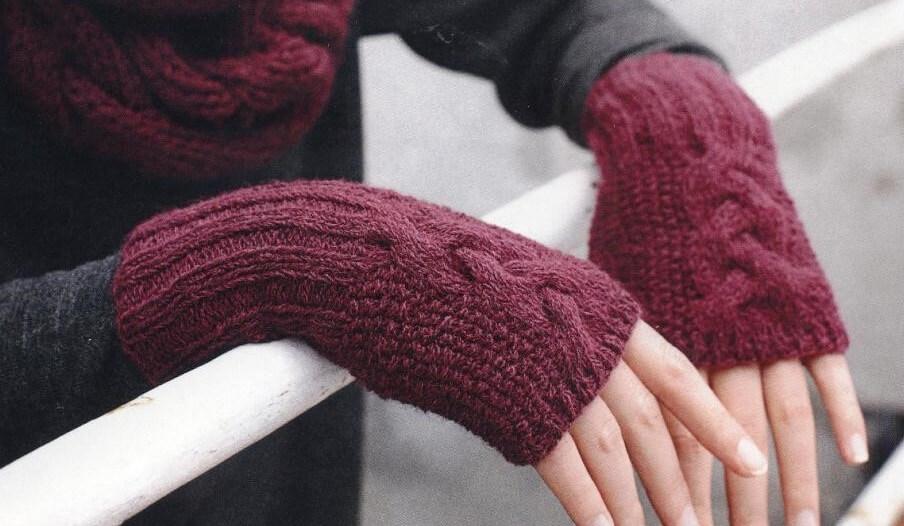 Вяжем снуд и перчатки