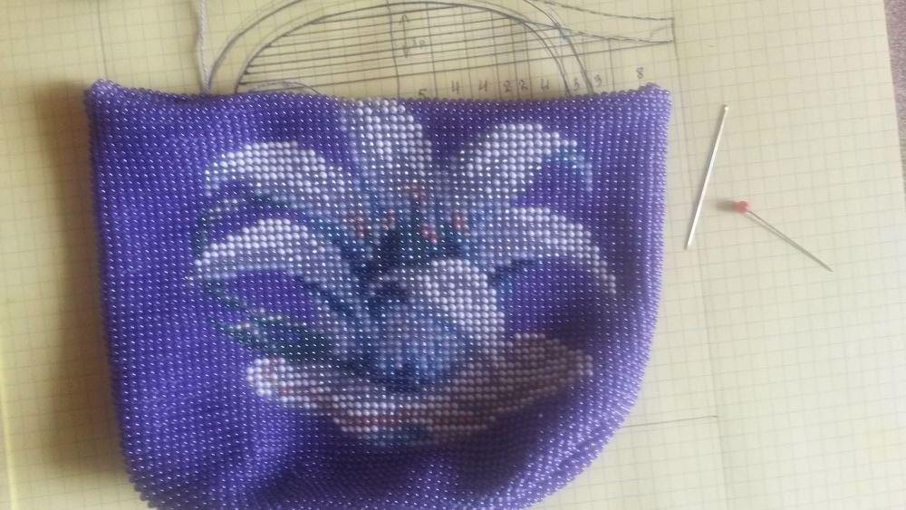 Как сделать мешочки для бисера