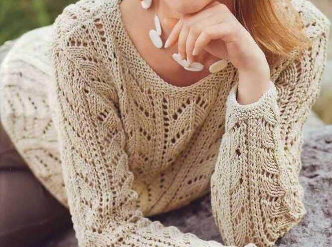 begevy-pulover-s-ajurnym-uzorom