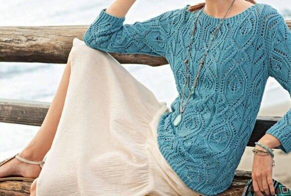 pulover-biruzovy