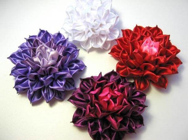Цветок канзаши