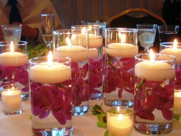 Новогодние гелиевые свечи