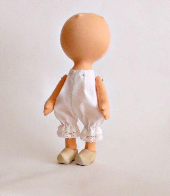 Пошив интерьерной куклы